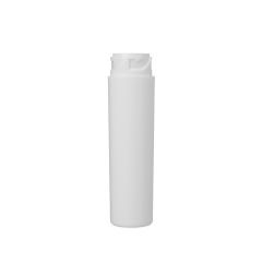 2.7in White Child Resistant Vial, Lug Finish