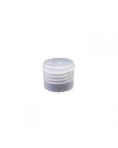 24-410 P/P Natural Smooth Flip Top, No Liner