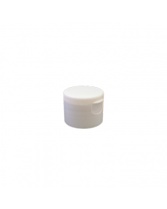 28-410 P/P White Smooth Flip Top Cap