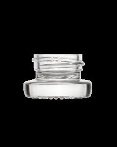 4ml 28mm Thick Wall Clear Glass Jar