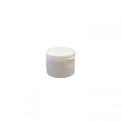 28-410 P/P White Smooth Flip Top Cap